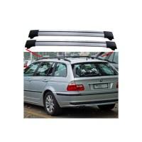 BMW 3 Series E46 From 04.98 Estate Aero Cross Bars Roof ...