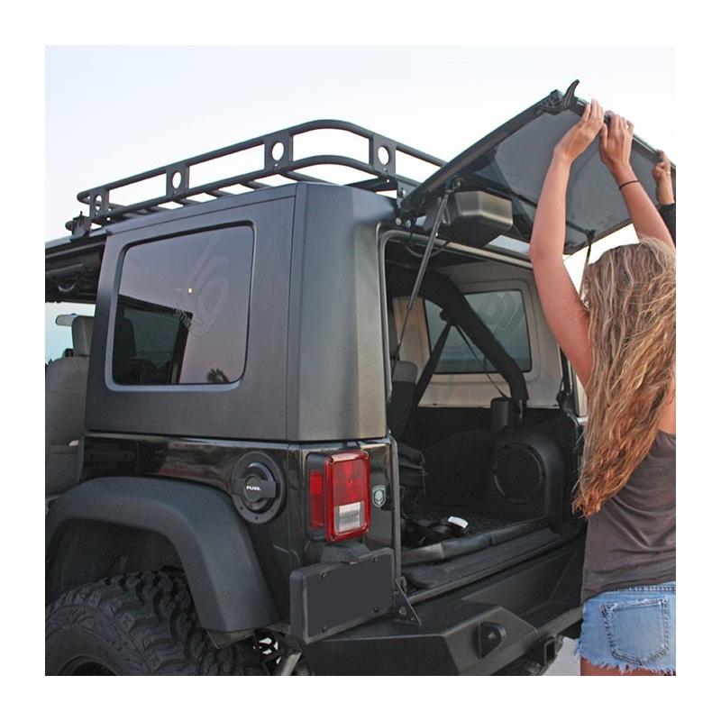 SB45454 Smittybilt roof rack Jeep Wrangler JK 4 drzwi offex.pl