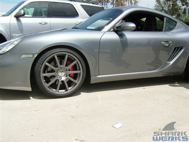 Porsche 2006 Cayman S - Grey Ghost with Tubi Exhaust and More