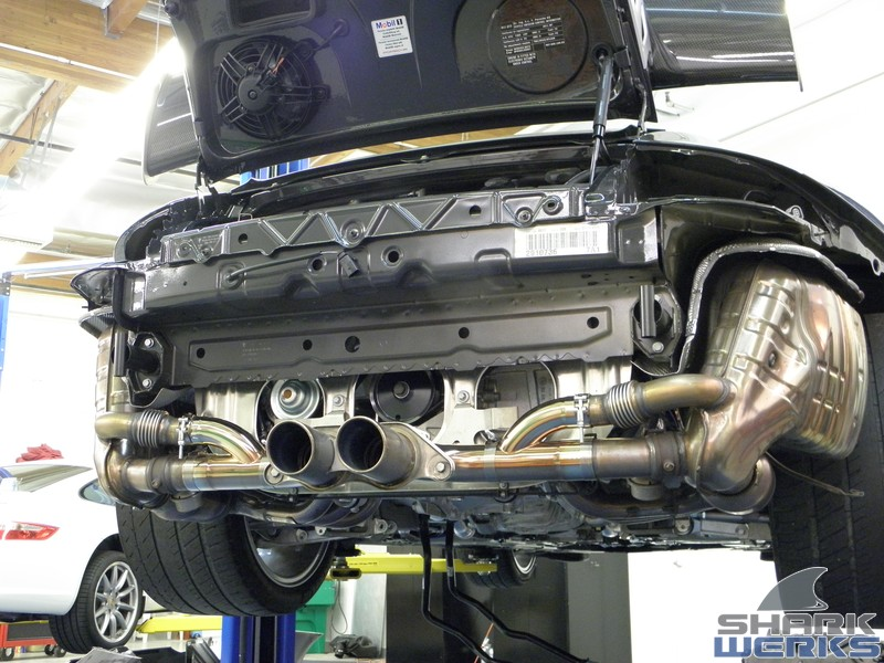 The Shark Werks GT1 Coolant Pipe Prevention / Fix on GT1 block (GT3