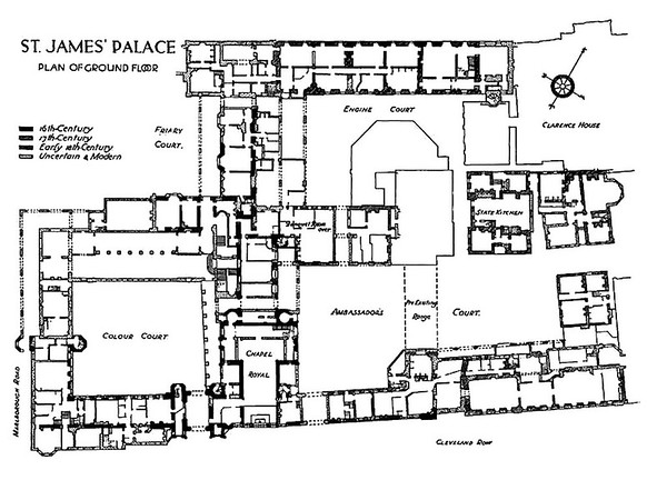 St James Palace 16th and 17th Centuryu0027s Tudor Architecture - survey form