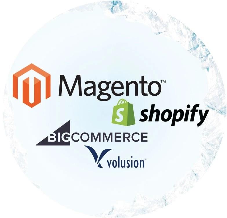 Magento vs Big Commerce vs Volusion vs Shopify - Sharp Commerce