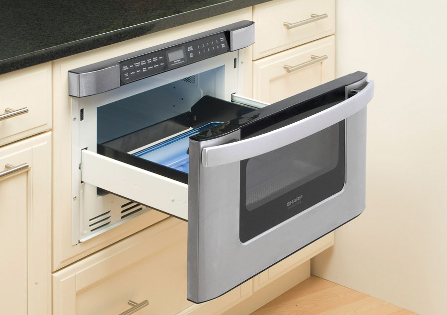 Kb 6524psy Microwave 24 Inch Easy Open Microwave Drawer