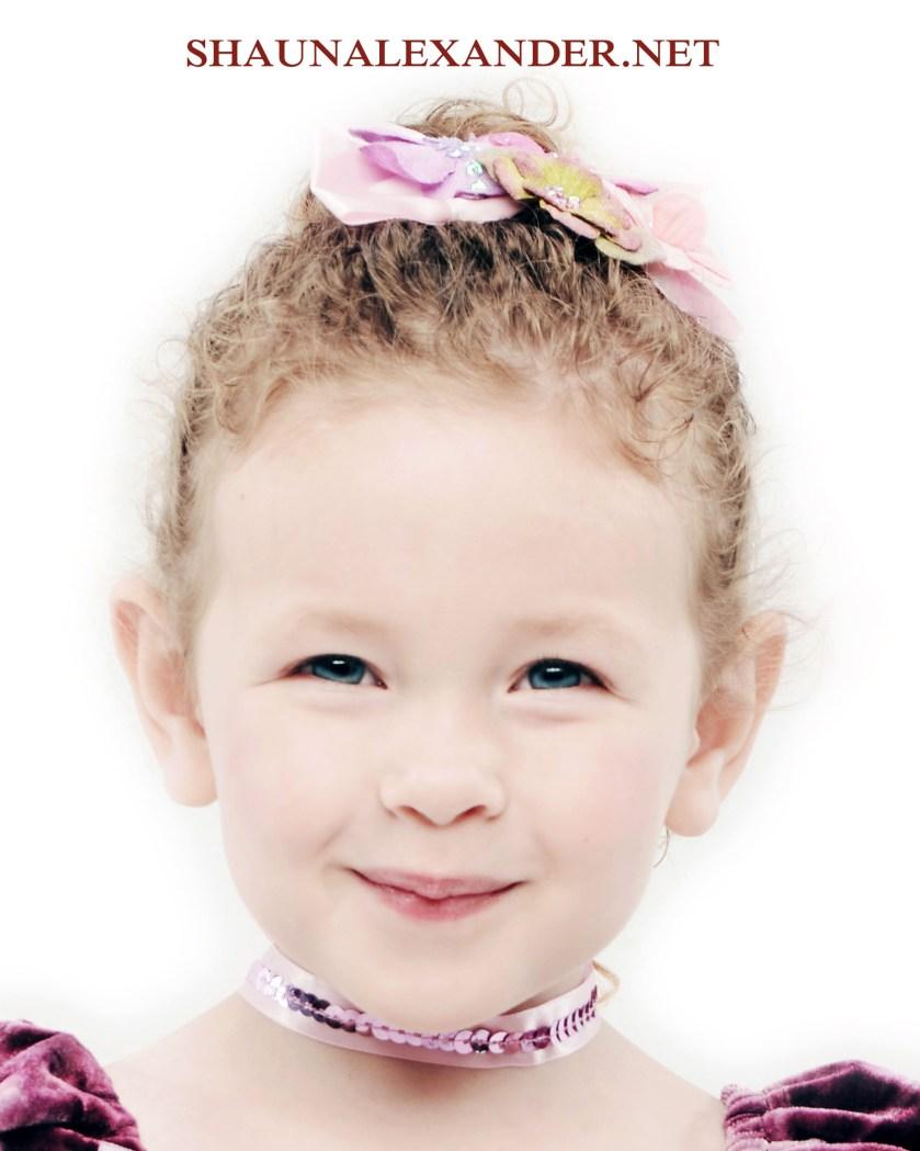 Dance portraits for kids