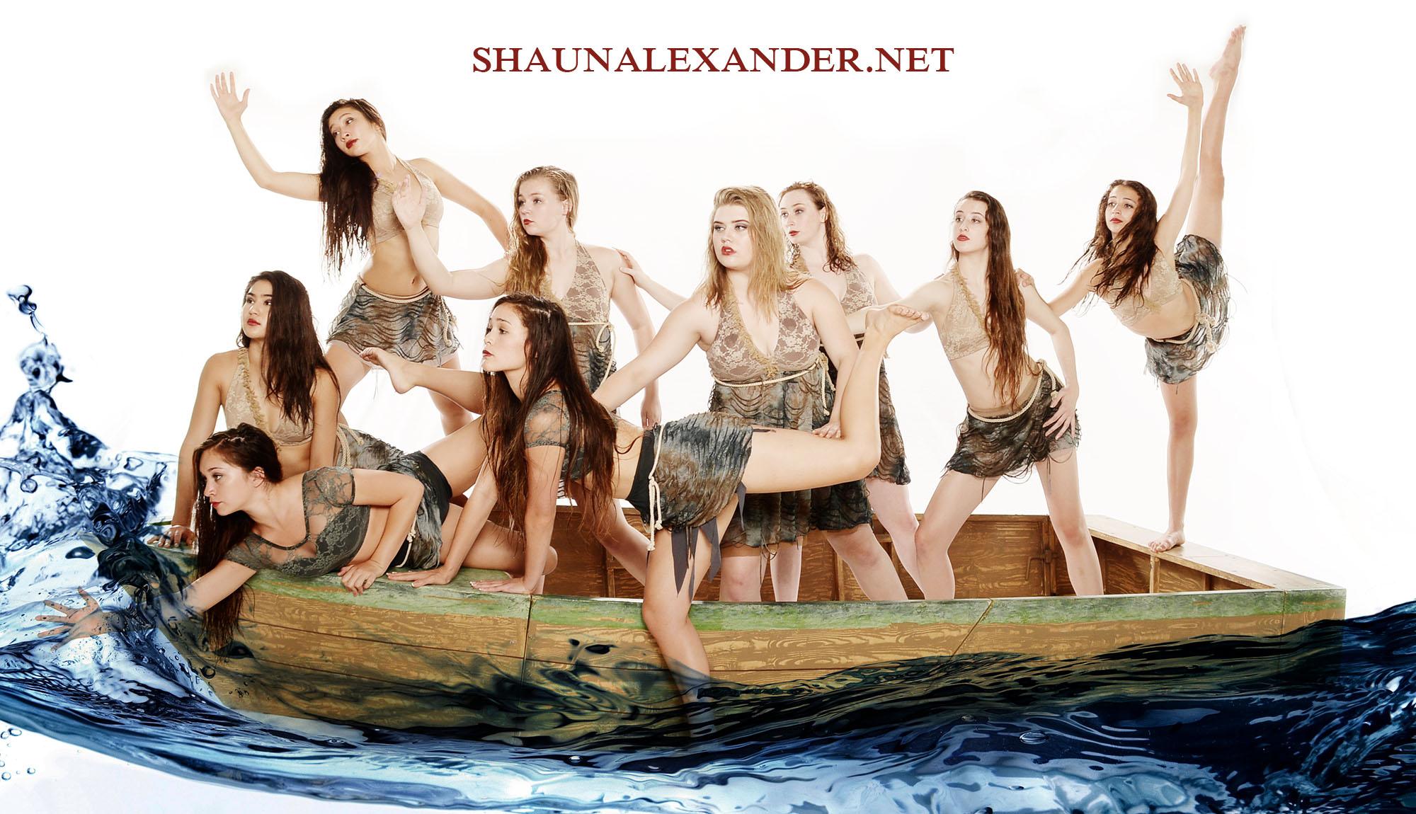 professional dancers group photos by Shaun Alexander