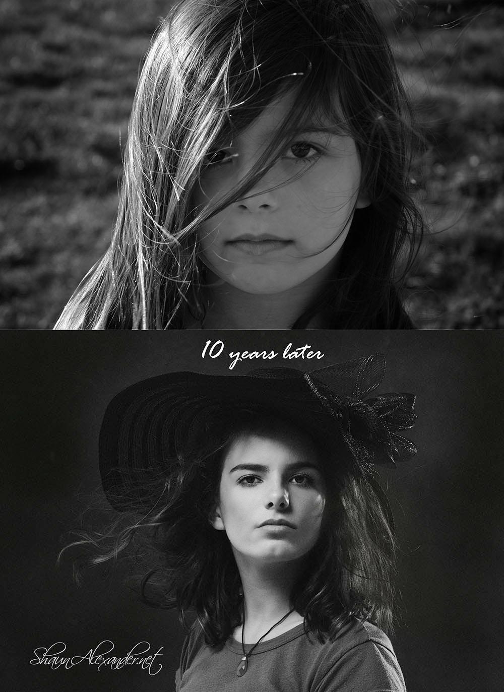 Hight school teen portraits by Shaun Alexander