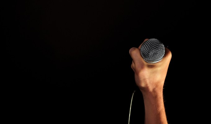 Sing out loud. Sing out strong.