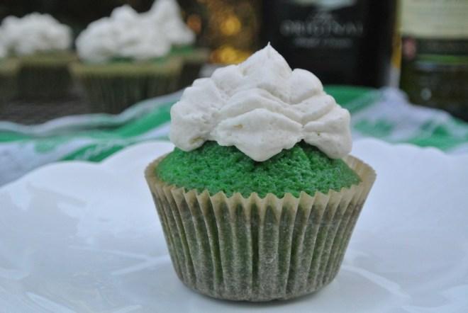 Green Leprechaun Cupcakes