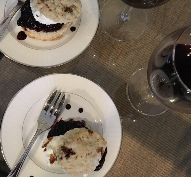 Blackberry Shortcake
