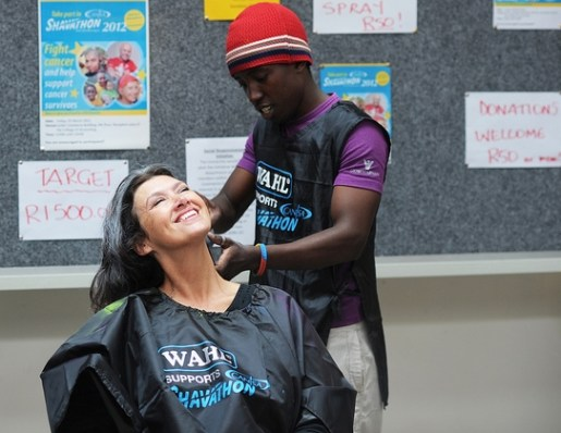 UCT Eleanor of the College of Accounting gets the treatment from Abel Macuacua