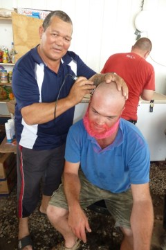 On Saturday the 2nd March 2013 the Kibali Mine in the DRC held their annual CANSA Shavathon and the day was attended by management from a number of contracting companies on site which included Rand Gold Resources, DRA Minerals, Shaft Sinkers, FFK, GPS and Burnecut.