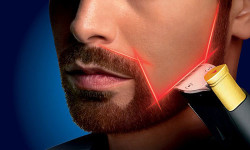 The World's First Laser Guided Beard Trimmer For Men