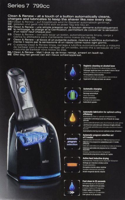 Braun Series 7 Electric Shaver