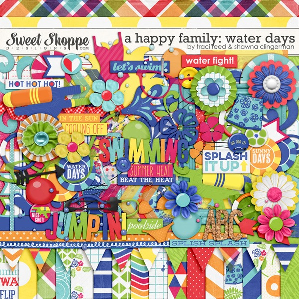 A-Happy-Family-Water-Days-by-Shawna-Clingerman-and-Traci-Reed