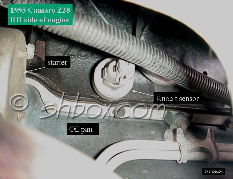 knock sensor swap - S-10 Forum