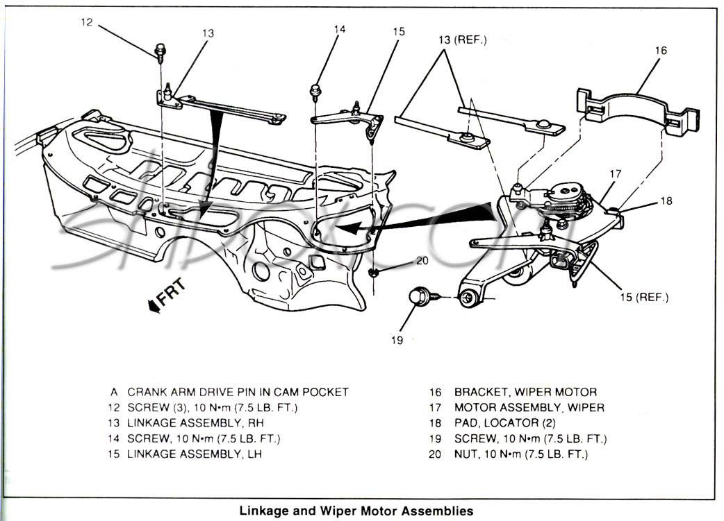 1969 chevelle wiper motor wiring diagram