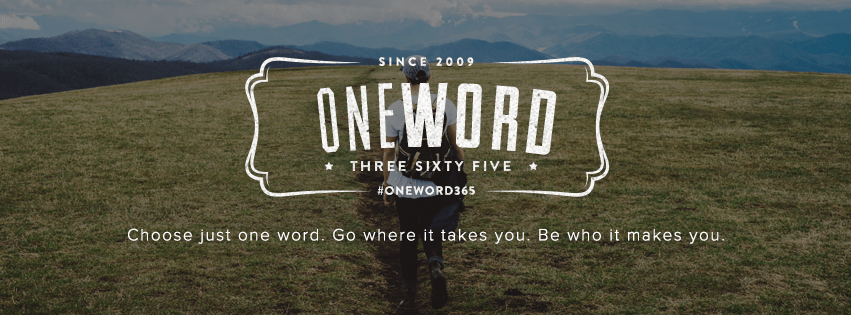 #One Word: What's Yours?