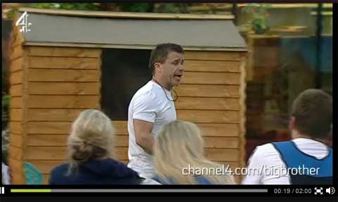 Ultimate Big Brother - Craig Phillips shed building task