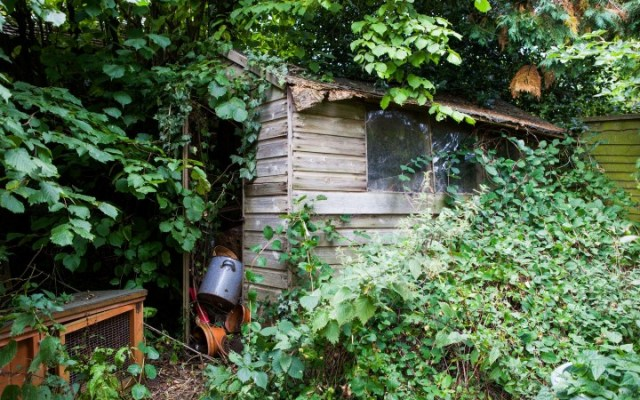 Britain's shabbiest shed gets a chic makeover courtesy of fash
