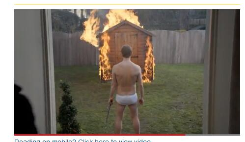 Is the Guardian condoning the burning of sheds?