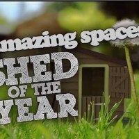Amazing Spaces Shed of the year 2015 TV show - four episodes this year!