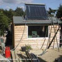 Are you thinking of adding Solar Power to your shed in 2015