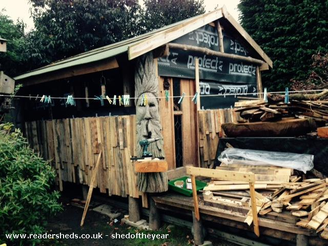 There have been 164 new sheds entered into shed of the year 2015