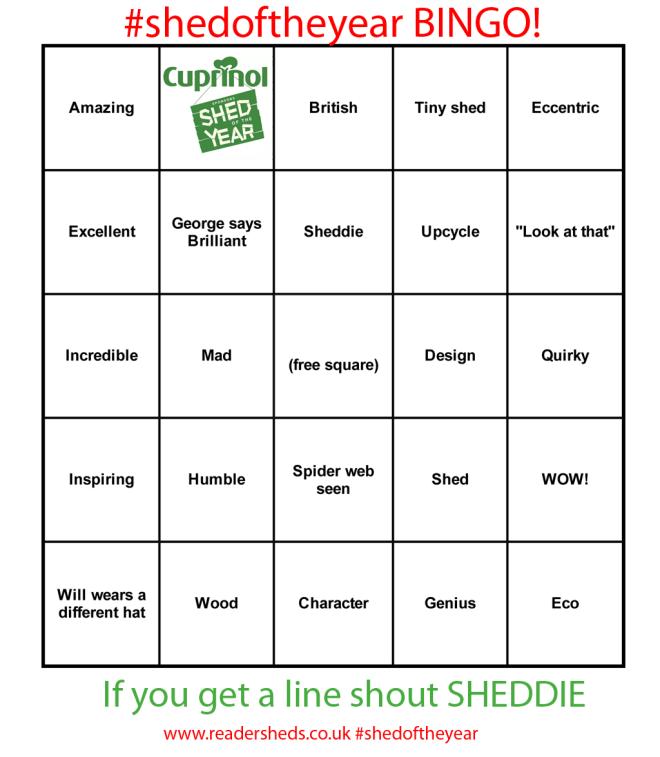 shedoftheyear-Bingo