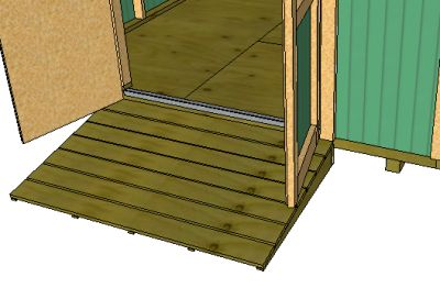 How To Build A Shed Ramp Add Shelves And More For Your