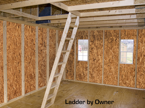 Best Barns Belmont 12x24 Wood Storage Shed Or Cabin Kit