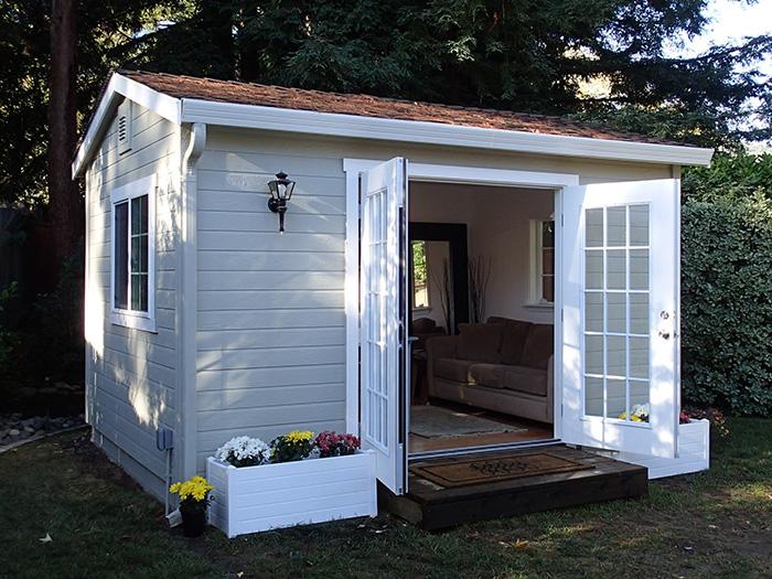 The Shed Shop Backyard Studio Model