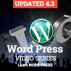 Word Press 4.3 Video Series