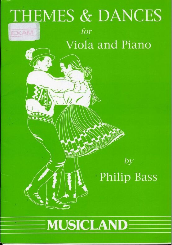 Themes and Dances - For Viola and Piano - Musicland only £1600