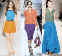 Colorblock Bridesmaid Dresses | Spring 2012 Trends