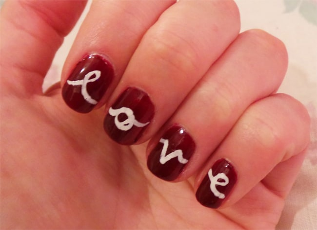 Beautiful 40 Cute Valentines Day Nails Designs For Ladies 2018