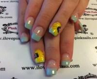 25 Amazing Sunflower Nail Designs for Girls - SheIdeas
