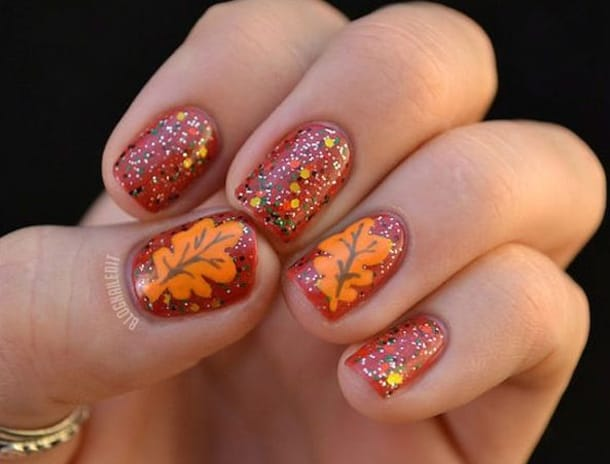20 Awesome Fall Nail Designs Collection Sheideas