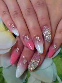 17 Cool Rhinestone Nail Designs for Inspiration - SheIdeas