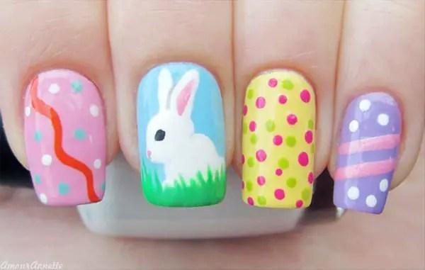 A Showcase Of Cute Easter Nail Art Designs Sheideas