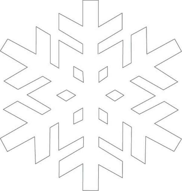 Printable Snowflake Templates to Get You Through Any Snow Day \u2013 SheKnows