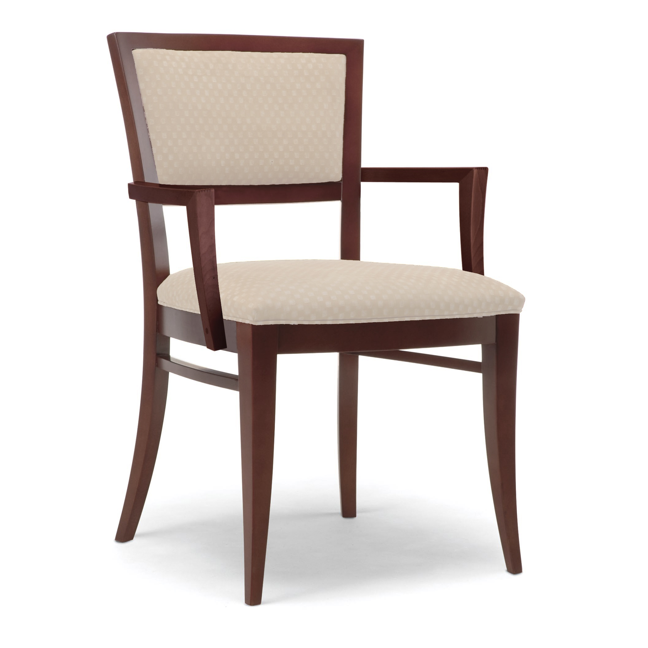 4126 1 Wood Arm Chair