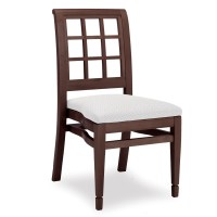 4026 Stacking Wood Side Chair