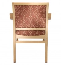 4012 Stacking Wood Arm Chair