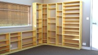 Office Shelves & Bookcases: Wood Shelving Units For Offices