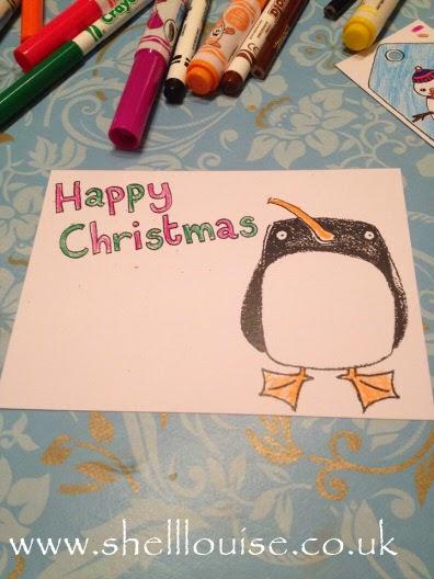 Eggnog Christmas Colouring