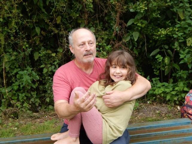 Ella and dad