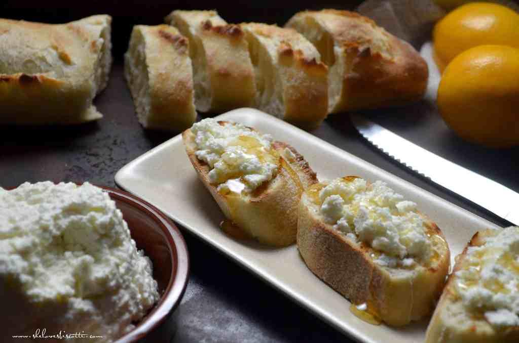 Creamy Homemade Fresh Ricotta Cheese - She loves biscotti