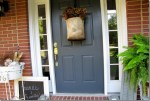Small Front Porch Fall Decorating Ideas