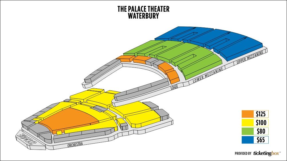 Seating Chart Palace Theater Waterbury Ct Brokeasshome