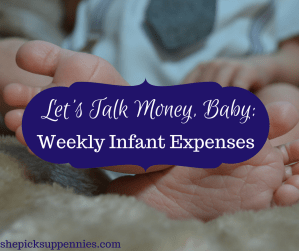 Weekly Infant Costs
